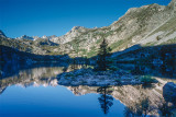 Sabrina Lake Reflection