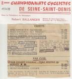 Championnat de Seine St Denis 1968