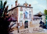 Solange d'Arnoux de Fleury - Cette oeuvre appartient au CAHRA