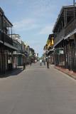 World Famed Bourbon Street in New Orleans