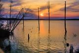 Another Sunrise at the Reservoir. Manasquan Reservoir, Howell, NJ.