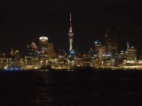 Auckland and Harbour at Night 4