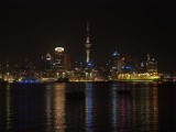 Auckland and Harbour at Night 3