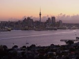 Auckland Harbour at Dusk 1