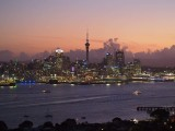 Auckland Harbour at Dusk 2