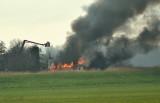 Brand in de polder, pillenfabriek (drugslab)