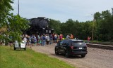 Big Boy locomotive in DSM