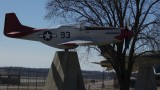 Memorial to Tuskege airmen