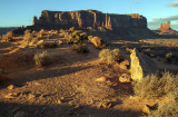Golden Light At Monument Valley, Navajo Nation, Arizona