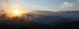Sunset Viewed From Black Balsam Knob