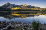 Sunrise At Our Kebler Pass Campsite,  Near Crested Butte, Colorado