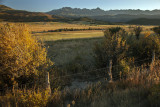 Evening Light On The Continental Divide- North Of Ouray, Colorado