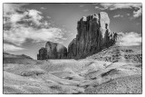 Monument Valley, A View From The Loop Road, Arizona