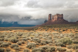 Storms Over Monument Valley, Arizona