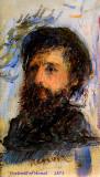 Portrait Paintings by Auguste Renoir (1841-1919).