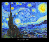 Photo album from years 1888-1890 of the paintings of Vincent Van Gogh (1853-1890).