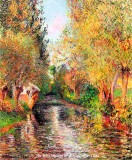 Paintings of Camille Pissarro (1830-1903).
