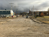 Muddy First Street Moosonee from train station