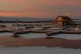 Meyers' Pier around sunrise