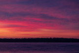 Purple sky across the Bay of Quinte 2019 December 25