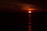Dark interpretation of Christmas sunrise