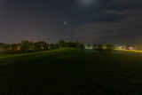 Zwicks Park East at night 2020 August 13