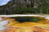 Yellowstone NP - Fountain Paint Pots, Biscuit Basin, Black Sand Basin