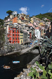 A week in the Cinque Terre National Park (province of La Spezia, Liguria, northern Italy)