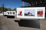 20 ans de la Semaine du Golfe - Exposition de photos sur le quai du port de Vannes