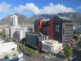 Cape Town view from my hotel room