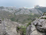 Cape Town Camps Bay viewed from Table Mountain