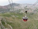 Cape Town descending Table Mountain