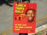 Johannesburg election poster