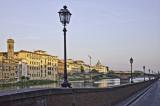 Alongside the Arno River