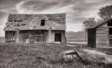 Deserted Barn and Outbuilding