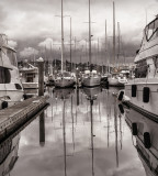 Berthed Boats