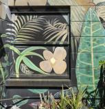 Painted Window, Garden Nursery