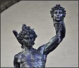 Perseus Raising The Head Of Medusa
