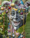 Mardi Gras Figure
