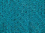 Blue Jeans Shawl Detail
