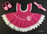 Pink Baby Dress for Maia