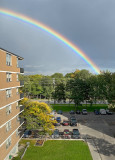 Rainbow in Toronto