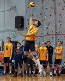 Queen's at Royal Military College M-Volleyball 02-08-19