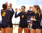 Queen's vs Ottawa W-Volleyball 09-27-19