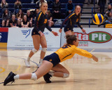Queen's vs Guelph W-Volleyball 02-15-20