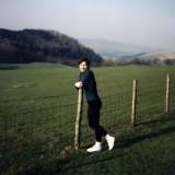 1995 Lancashire England visiting family