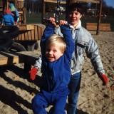 2000 Dec Janet Dave Dolittle Park Wallingford CT