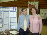 2003 Dave gets awards at the CT Science Fair