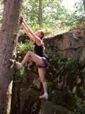 2013 Yale OEC ledge climb 2
