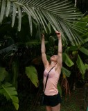 2019 Palm tree leaf Hawaii